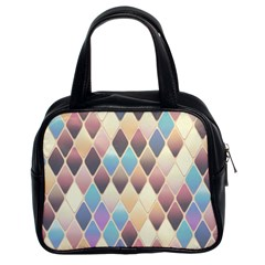 Abstract Colorful Background Tile Classic Handbags (2 Sides)