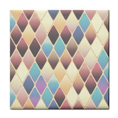 Abstract Colorful Background Tile Face Towel