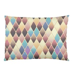 Abstract Colorful Background Tile Pillow Case