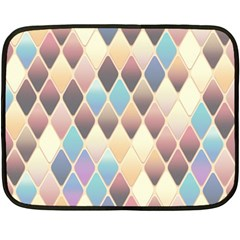 Abstract Colorful Background Tile Double Sided Fleece Blanket (mini)