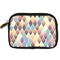 Abstract Colorful Background Tile Digital Camera Cases