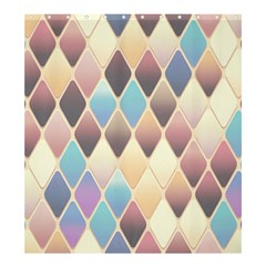 Abstract Colorful Background Tile Shower Curtain 66  X 72  (large)