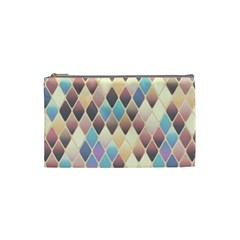 Abstract Colorful Background Tile Cosmetic Bag (small)