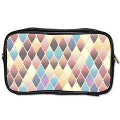 Abstract Colorful Background Tile Toiletries Bags