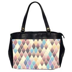 Abstract Colorful Background Tile Office Handbags (2 Sides)