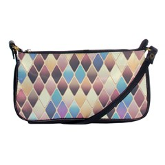 Abstract Colorful Background Tile Shoulder Clutch Bags