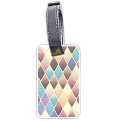 Abstract Colorful Background Tile Luggage Tags (One Side)