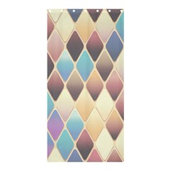 Abstract Colorful Background Tile Shower Curtain 36  X 72  (stall)