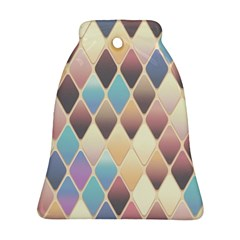 Abstract Colorful Background Tile Ornament (bell)