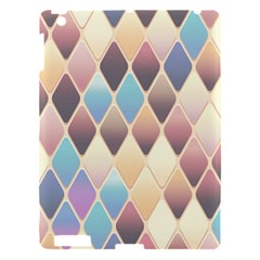 Abstract Colorful Background Tile Apple Ipad 3/4 Hardshell Case