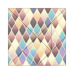 Abstract Colorful Background Tile Acrylic Tangram Puzzle (6  X 6 )