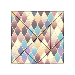 Abstract Colorful Background Tile Acrylic Tangram Puzzle (4  X 4 )