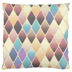 Abstract Colorful Background Tile Large Cushion Case (one Side)