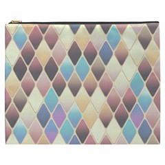 Abstract Colorful Background Tile Cosmetic Bag (xxxl)