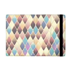 Abstract Colorful Background Tile Apple Ipad Mini Flip Case