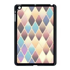 Abstract Colorful Background Tile Apple Ipad Mini Case (black)