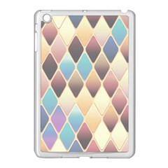 Abstract Colorful Background Tile Apple Ipad Mini Case (white)