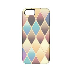 Abstract Colorful Background Tile Apple Iphone 5 Classic Hardshell Case (pc+silicone)