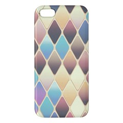 Abstract Colorful Background Tile Apple Iphone 5 Premium Hardshell Case