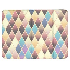 Abstract Colorful Background Tile Samsung Galaxy Tab 7  P1000 Flip Case