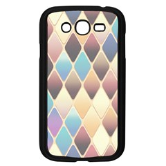 Abstract Colorful Background Tile Samsung Galaxy Grand Duos I9082 Case (black)