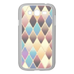 Abstract Colorful Background Tile Samsung Galaxy Grand Duos I9082 Case (white)