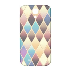 Abstract Colorful Background Tile Samsung Galaxy S4 I9500/i9505  Hardshell Back Case