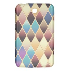 Abstract Colorful Background Tile Samsung Galaxy Tab 3 (7 ) P3200 Hardshell Case