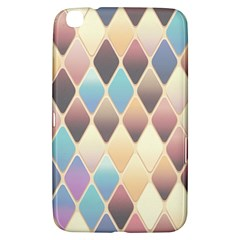 Abstract Colorful Background Tile Samsung Galaxy Tab 3 (8 ) T3100 Hardshell Case