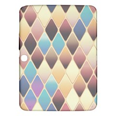 Abstract Colorful Background Tile Samsung Galaxy Tab 3 (10 1 ) P5200 Hardshell Case
