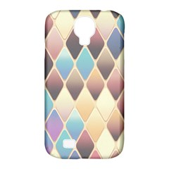 Abstract Colorful Background Tile Samsung Galaxy S4 Classic Hardshell Case (PC+Silicone)