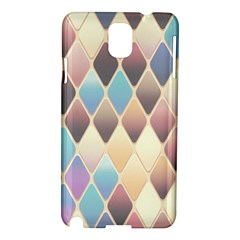 Abstract Colorful Background Tile Samsung Galaxy Note 3 N9005 Hardshell Case