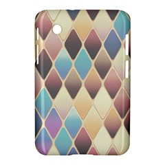 Abstract Colorful Background Tile Samsung Galaxy Tab 2 (7 ) P3100 Hardshell Case