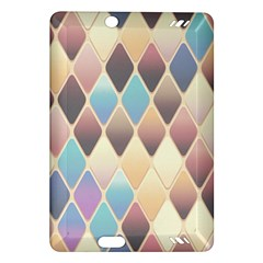 Abstract Colorful Background Tile Amazon Kindle Fire Hd (2013) Hardshell Case