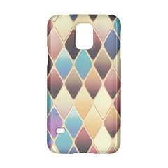 Abstract Colorful Background Tile Samsung Galaxy S5 Hardshell Case