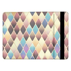 Abstract Colorful Background Tile Samsung Galaxy Tab Pro 12 2  Flip Case