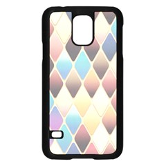 Abstract Colorful Background Tile Samsung Galaxy S5 Case (black)