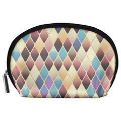 Abstract Colorful Background Tile Accessory Pouches (large)