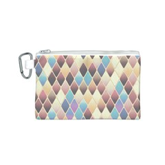 Abstract Colorful Background Tile Canvas Cosmetic Bag (s)