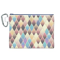 Abstract Colorful Background Tile Canvas Cosmetic Bag (xl)