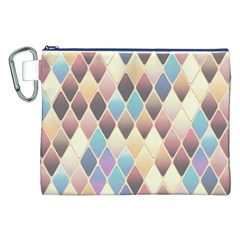 Abstract Colorful Background Tile Canvas Cosmetic Bag (xxl)