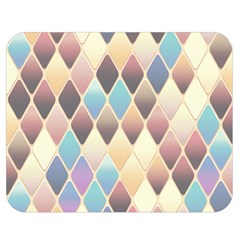 Abstract Colorful Background Tile Double Sided Flano Blanket (medium)
