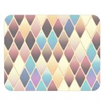 Abstract Colorful Background Tile Double Sided Flano Blanket (Large)   Blanket Back