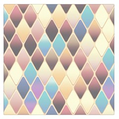 Abstract Colorful Background Tile Large Satin Scarf (square)