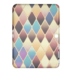 Abstract Colorful Background Tile Samsung Galaxy Tab 4 (10 1 ) Hardshell Case