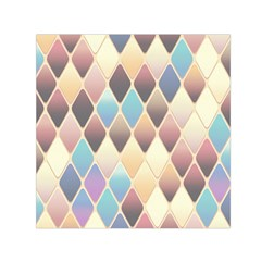 Abstract Colorful Background Tile Small Satin Scarf (square)