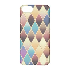 Abstract Colorful Background Tile Apple Iphone 7 Hardshell Case