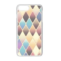 Abstract Colorful Background Tile Apple Iphone 7 Plus White Seamless Case
