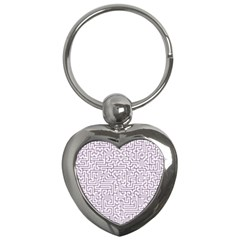Maze Lost Confusing Puzzle Key Chains (heart)