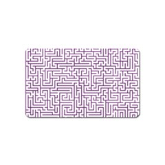 Maze Lost Confusing Puzzle Magnet (name Card)